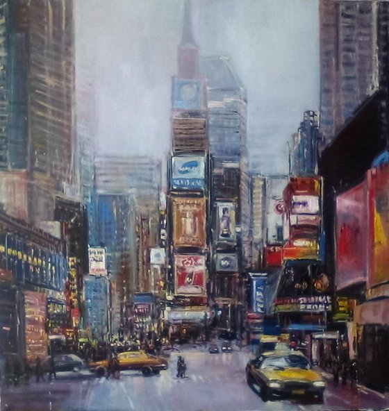 New York, Times Square - Evening