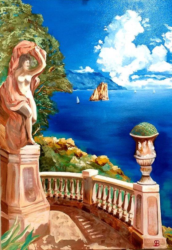 View of Faraglioni - Capri