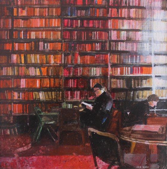 Book lovers cafe, Paris.