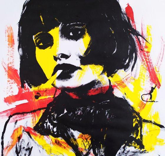 Yellow girl #2