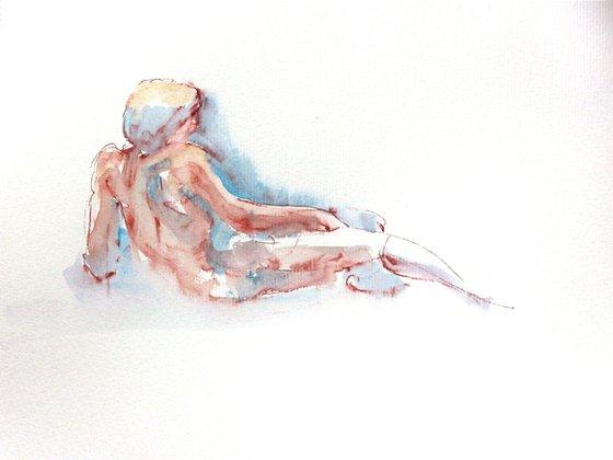Nude in Watercolor