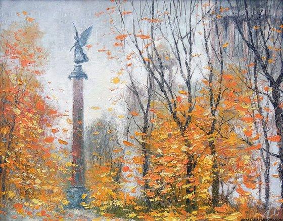 Autumn in Saint-Petersburg