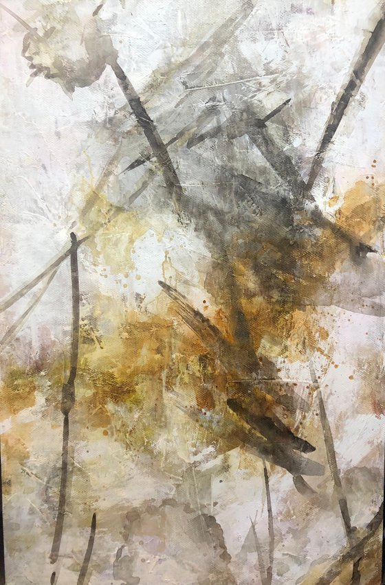 """""""Abstraction 18"""" size 60x90cm;  canvas, oil.  Free shipping"""