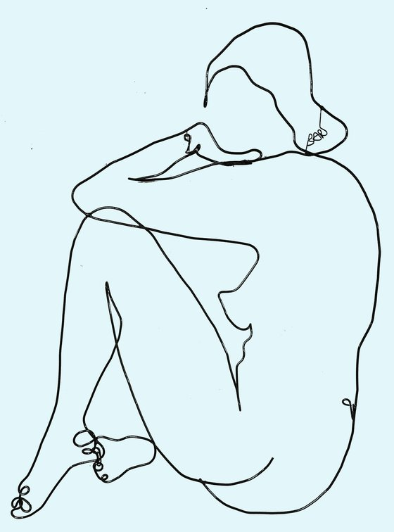 Seated Nude #7023