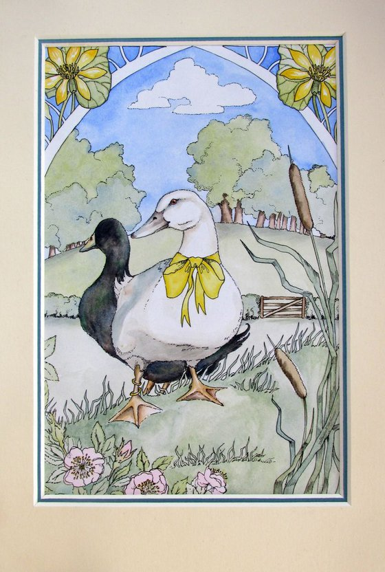 'Sunny Day Ducks'