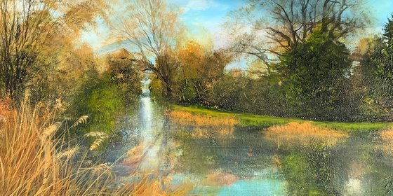 'EVENING STROLL ROYAL MILITARY CANAL'