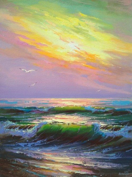 Morning seascape 03
