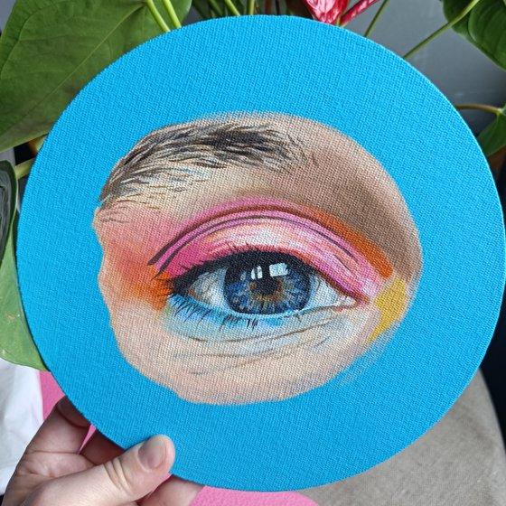 'Blue eye'