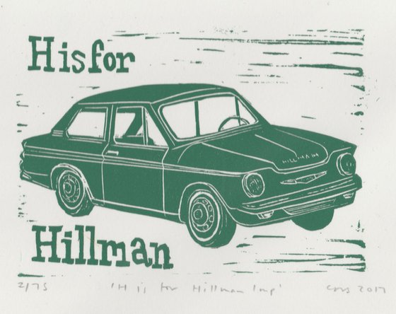 H is for Hillman Imp