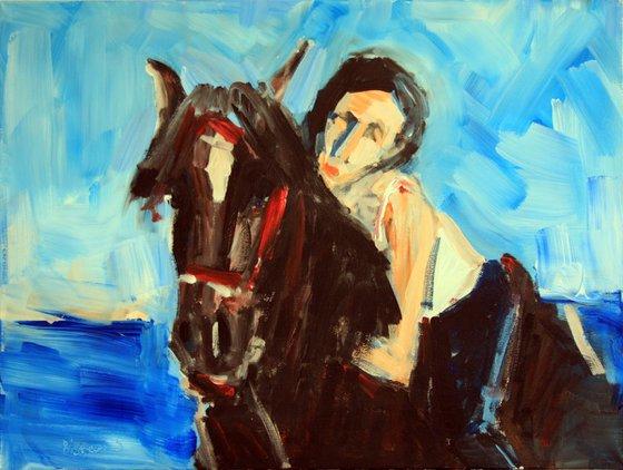 horse riding lesson 2