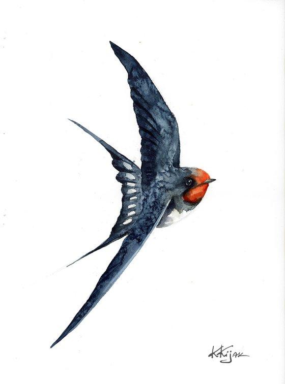 Flying Barn swallow II