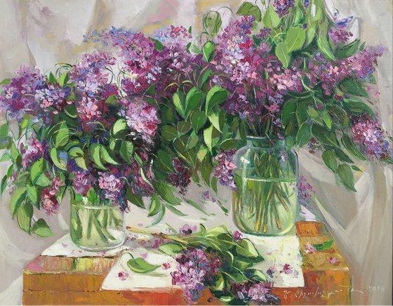 Lilacs (86x67 cm)