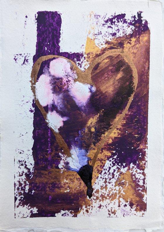 Pilgrim's Kiss - Heart Painting