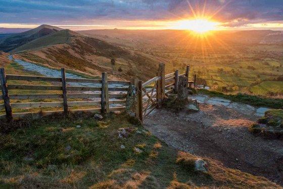 "Great Ridge Sunrise  - 54x36"" LARGE Limited Edition Print"