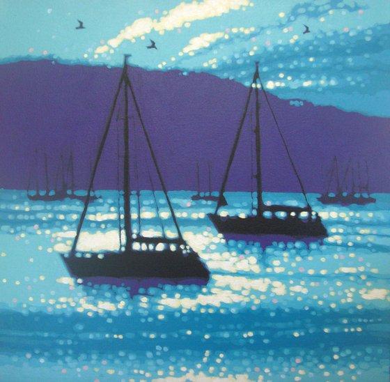 Calm Sea Sailing