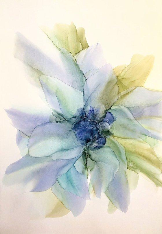 Green ephemeric Flower