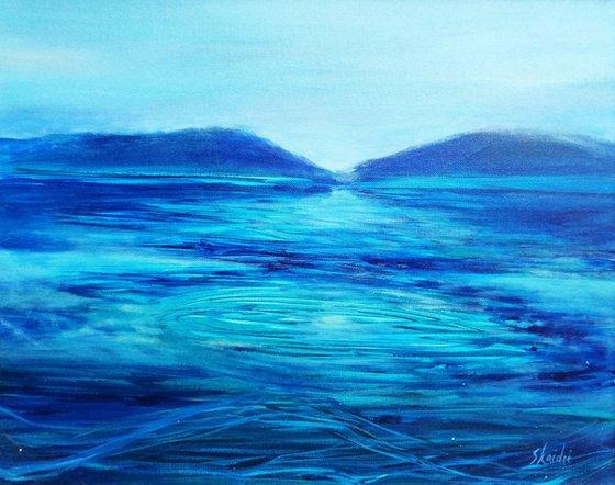 Painting   Acrylic   Lake