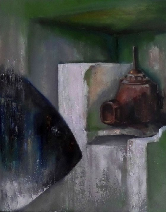 Painting | Oil | Long echo