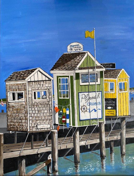 Plymouth Harbor - CAPE COD