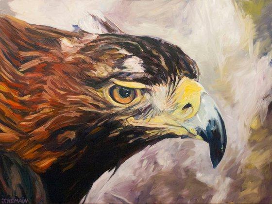 Royal eagle head.
