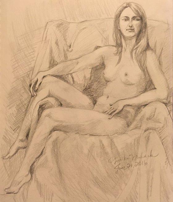 Nude Drawing 3