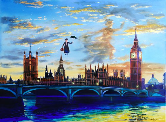 Mary Poppins returns to London