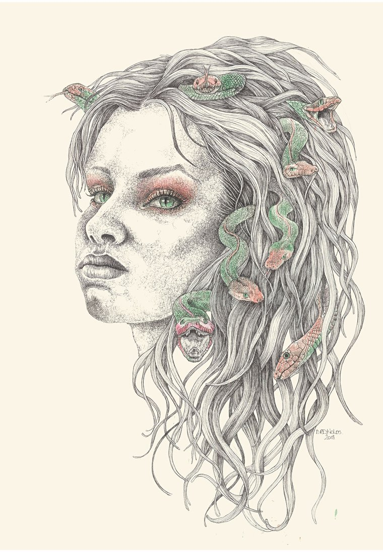 Results For Medusa Drawing In Art Artfinder Polish your personal project or design with these medusa transparent png images, make it even more personalized and more attractive. results for medusa drawing in art