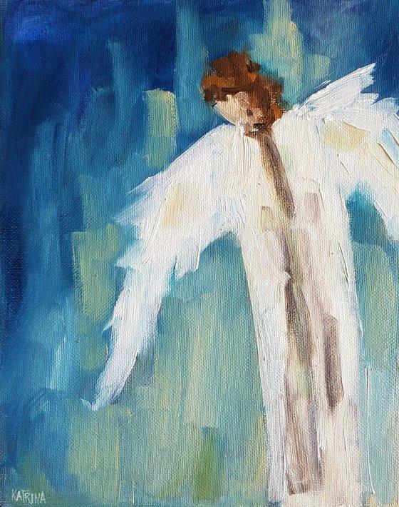 """""""Watching Over You"""" - Angel - Figure"""