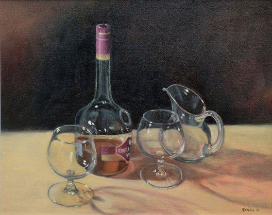Brandy & Glass