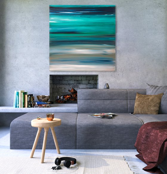 Winter Moods - 80x80 cm, Inspired by Vivaldi's Four Seasons