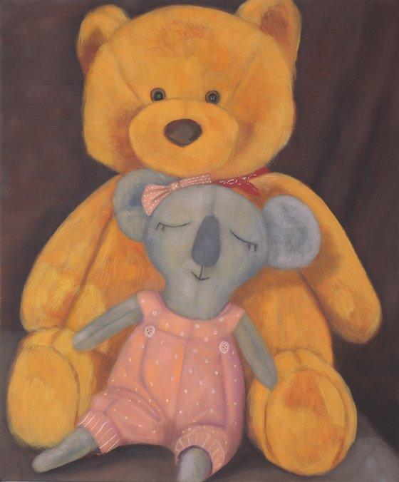 Bear and Koala