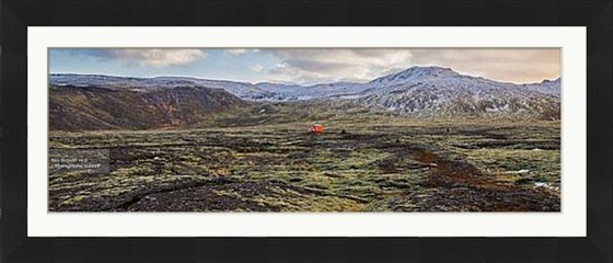 """Refuge (Ultra Panoramic)  -  34x13"""" FRAMED Limited Edition Print"""