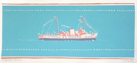 MV Balmoral Crossing