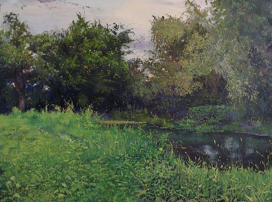 Olhovka river