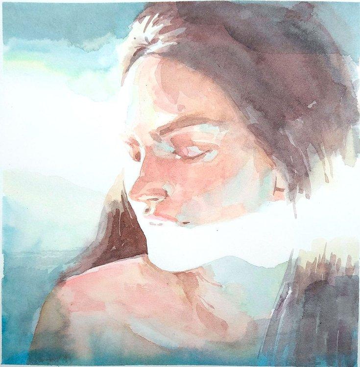 Sunlight in Watercolour