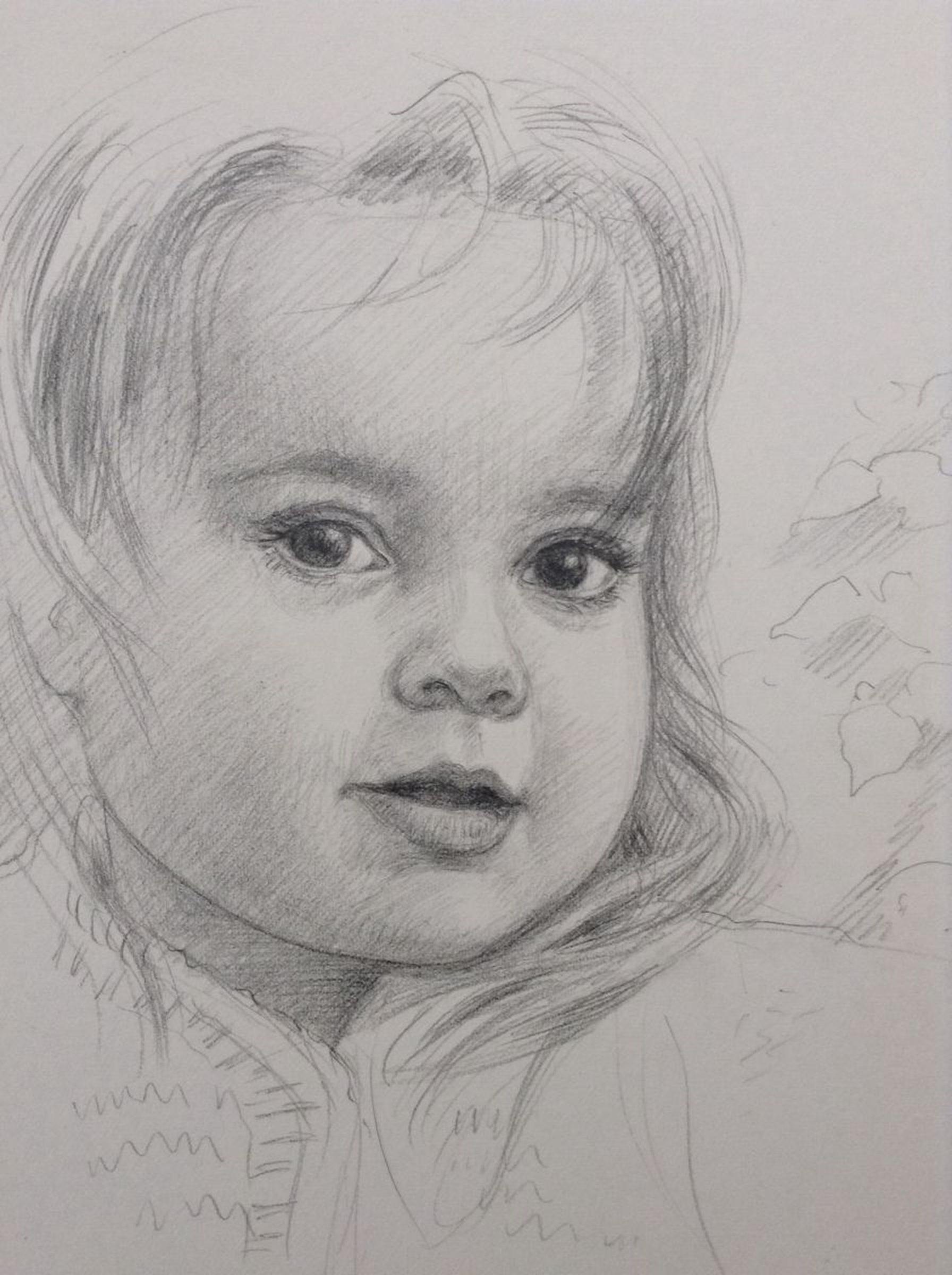Amber 2015 pencil drawing
