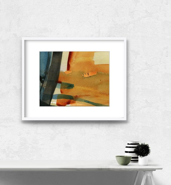 Abstract Composition 44 - Abstract Painting by Kathy Morton Stanion