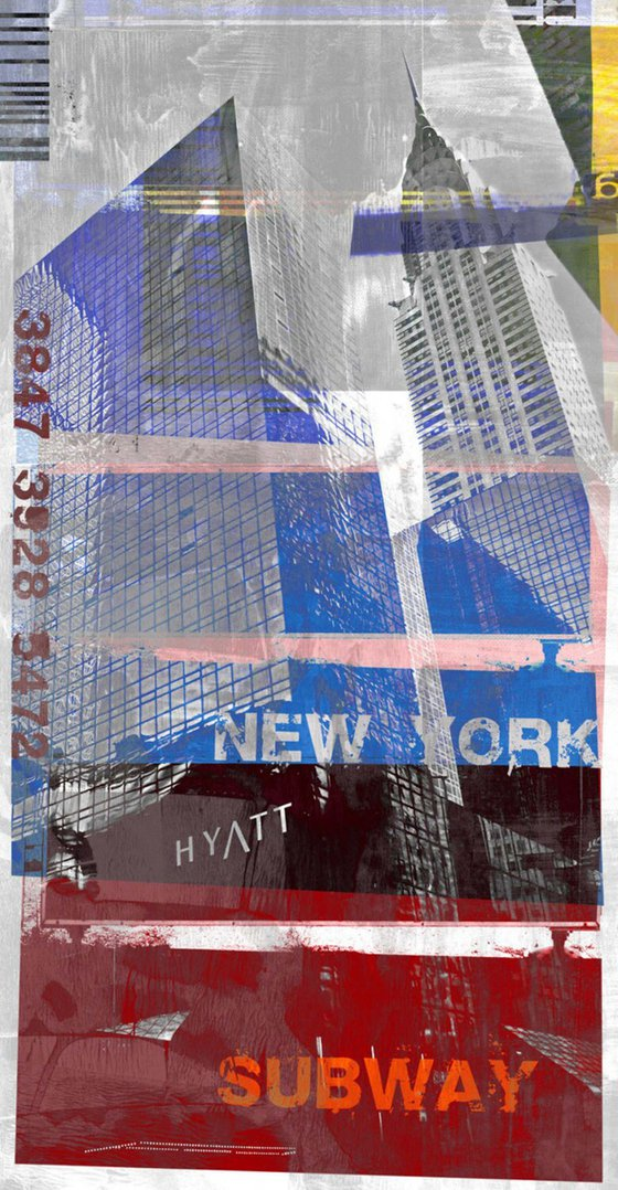 NEW YORK SKYLINER VII