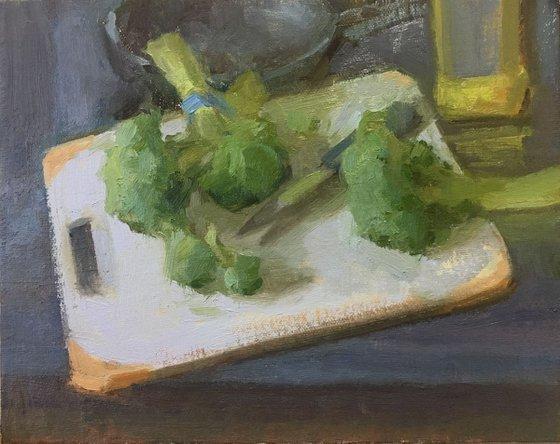 Broccoli sauté anyone?
