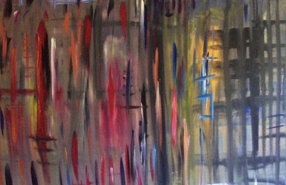 """""""The Others"""" 150x100x2cm"""