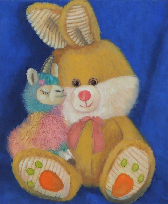 Bunny and Alpacacorn