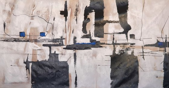 ABSTRACT 100x200cm