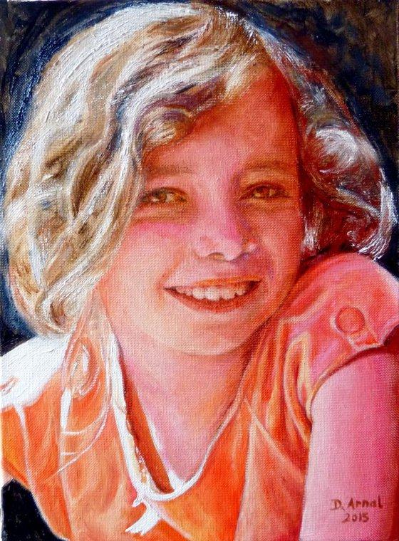 classic portrait of a child