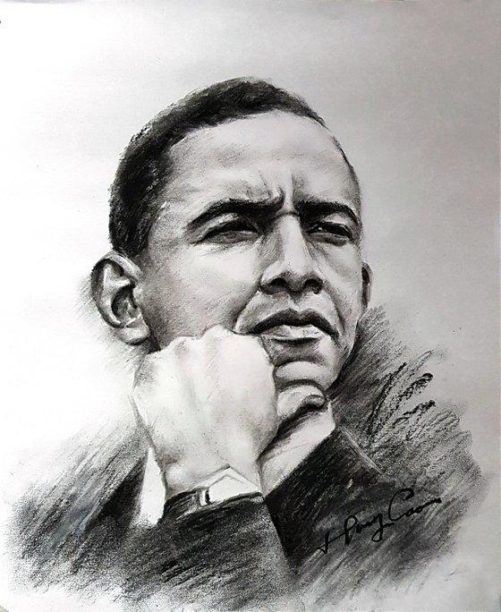 Obama, thinking about the world