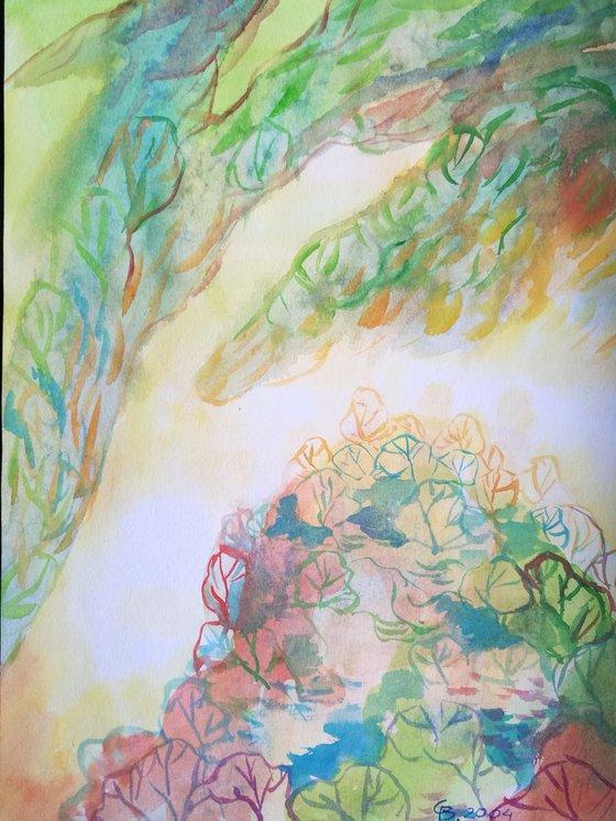 Painting   Watercolor   Summer III