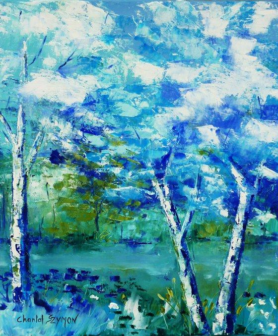 Bleu forêt 2
