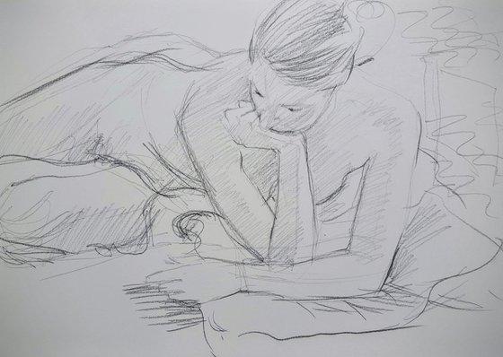 Life Drawing Study No 2
