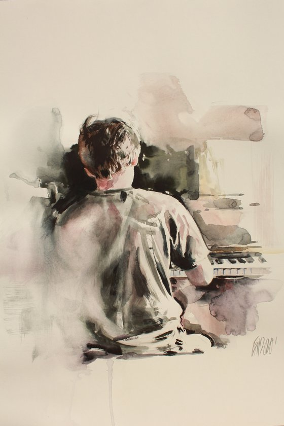 On the piano 2