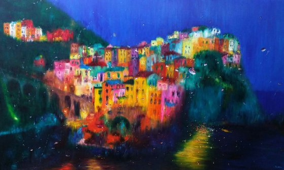 Dream of Being Water in Cinque Terre 1