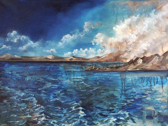 """Through Deep Water"" - Seascape - Landscape"
